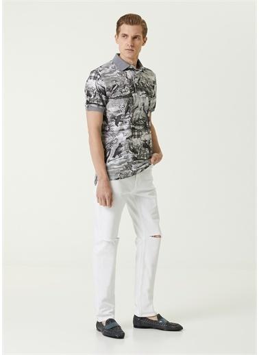 Etro Polo Yaka T-shirt Gri